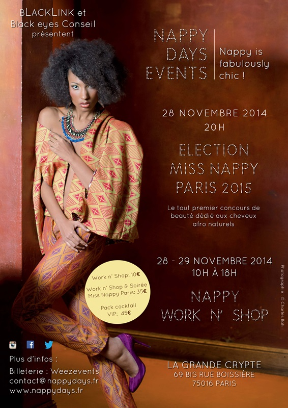 #NappyDaysEvents à Paris – Nappy is fabulously chic