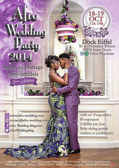 Evénement – 2ème édition du Salon Afro Wedding à Paris