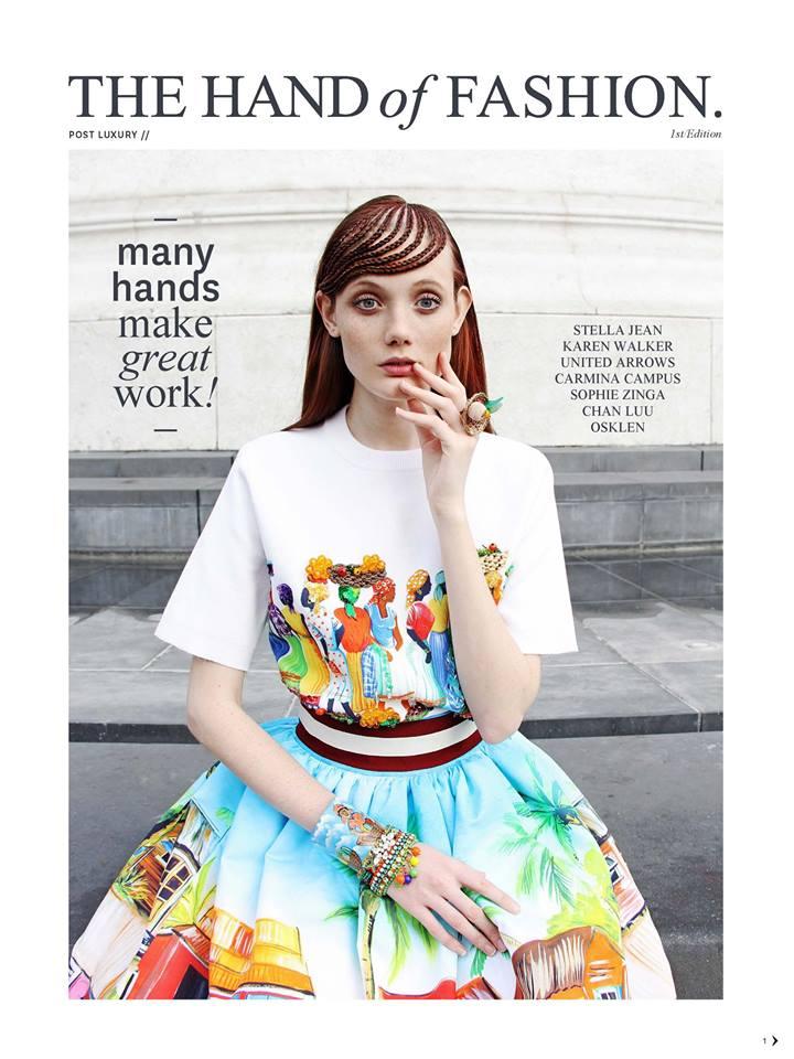 Projet «The Hand of Fashion» – Black Magazine