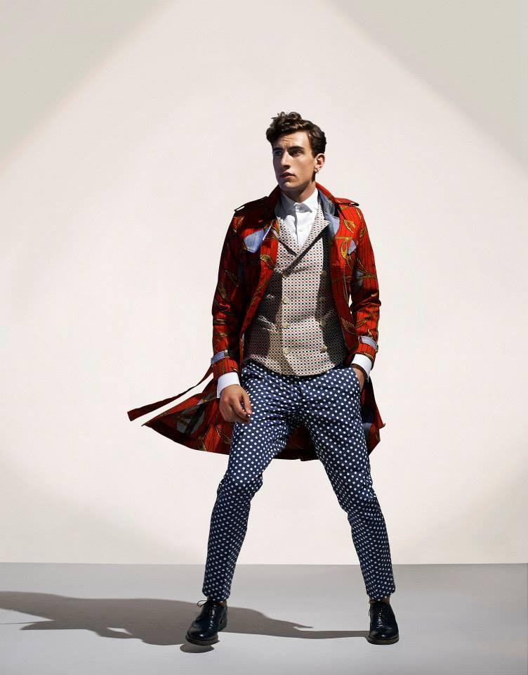 Collection Printemps-Eté 2015 Mode Masculine / Stella Jean