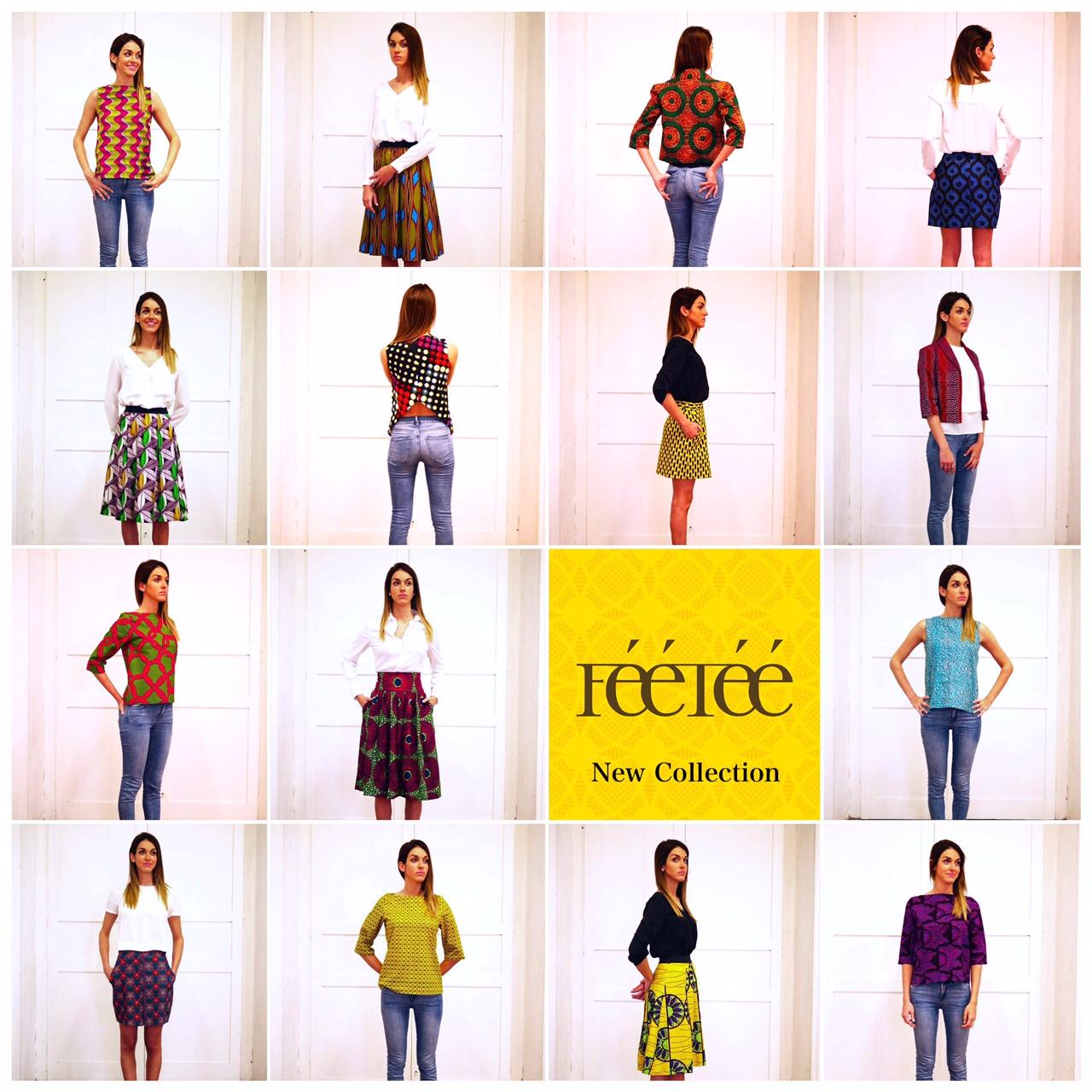 LookBook : FEETEE Collection Printemps Été 2015