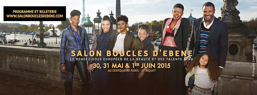 La 5ème édition du Salon Boucles d'Ebene : les 30, 31 mai et 1er Juin 2015 à Paris