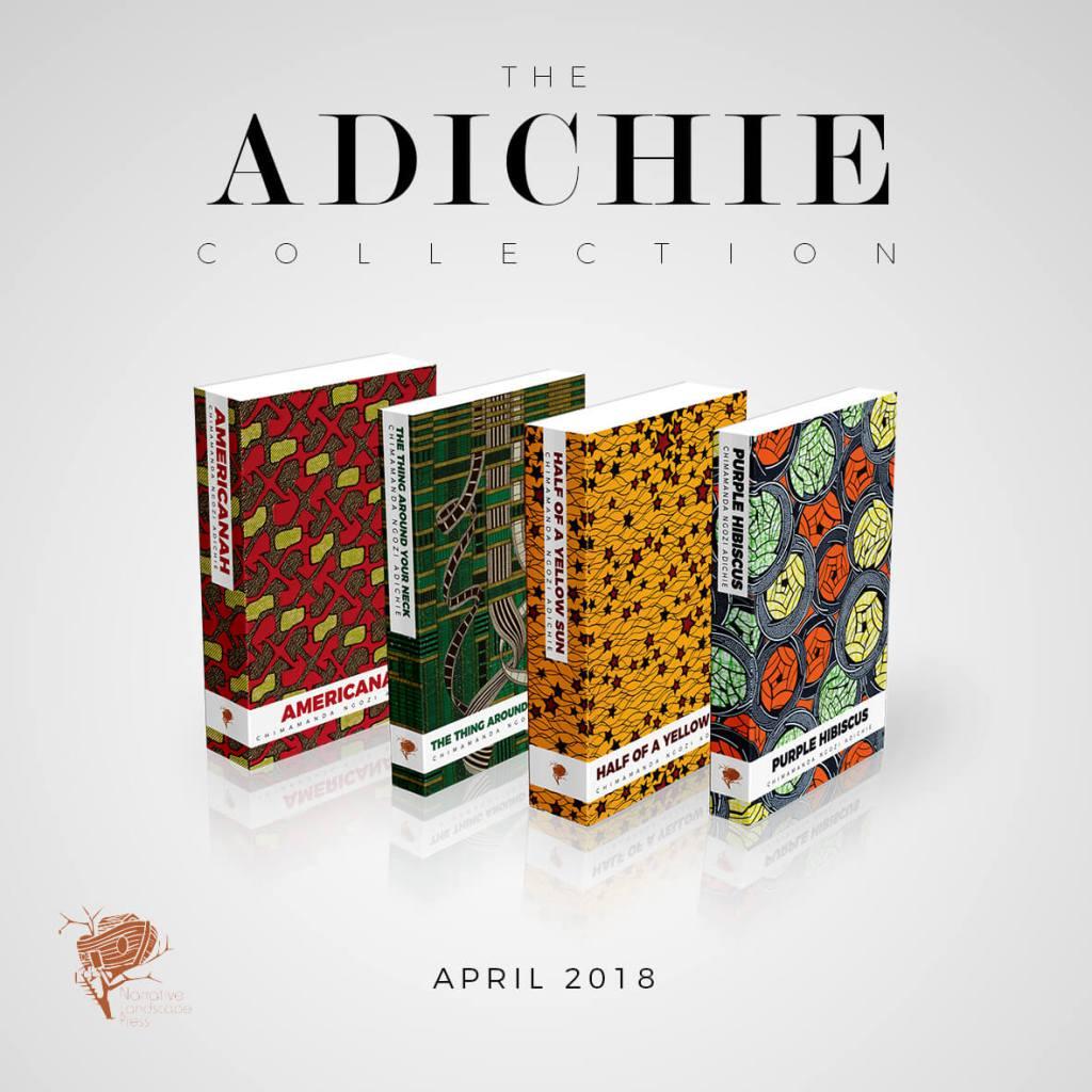 Édition collector des ouvrages de Chimamanda NGOZI ADICHIE par VLISCO.