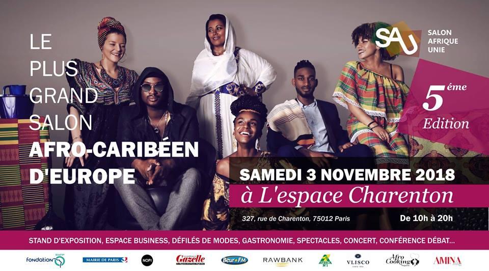 Le salon AFRIQUE UNIE fête ses 5 ans à l'espace Charenton à Paris