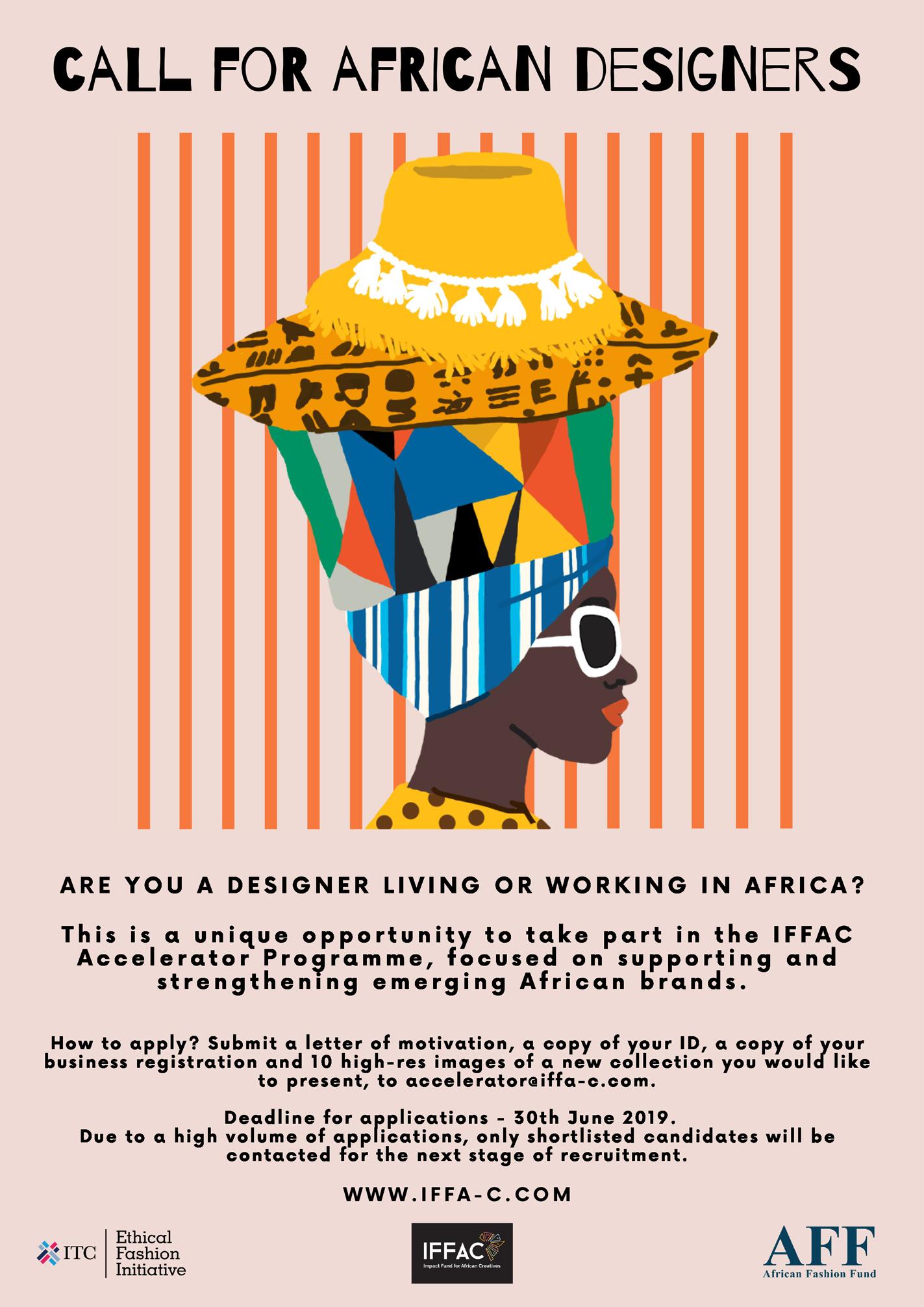 APPEL AUX CREATEURS AFRICAINS