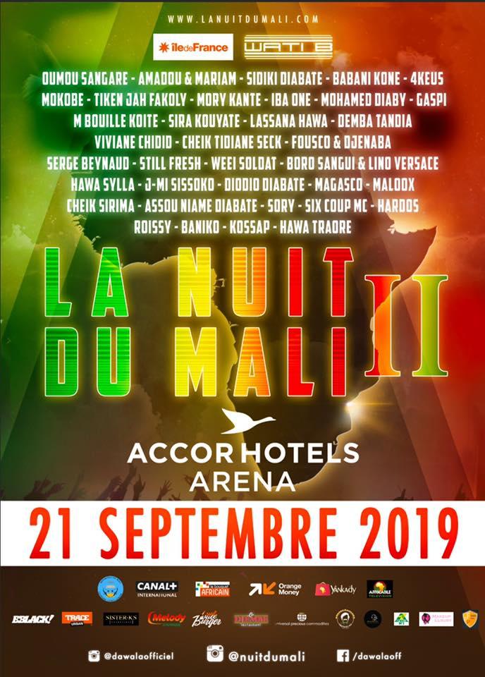 La Nuit Du Mali revient pour sa 2ème édition à Paris