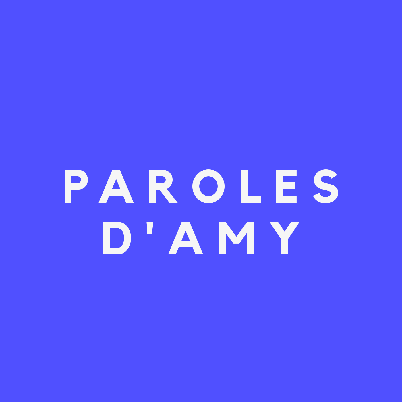 TEASER : Le Podcast « Paroles d'Amy »