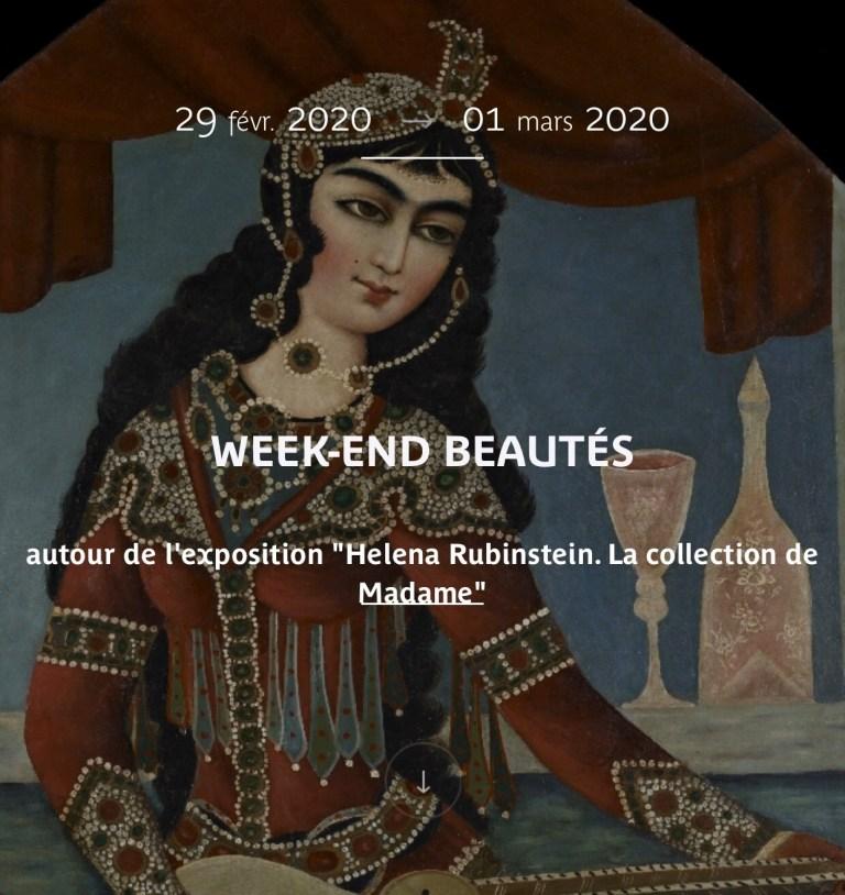 Week-end Beautés au Musée Quai Branly à Paris