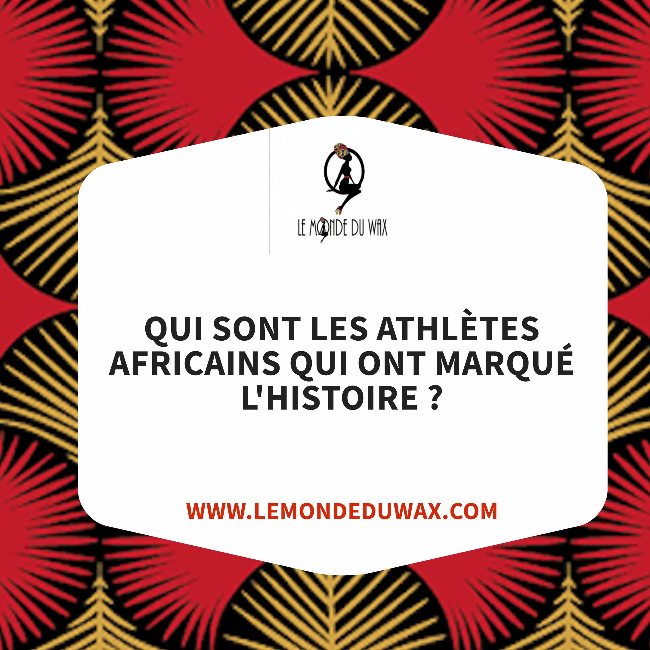 Ces athlètes africains qui ont marqué les Jeux Olympiques
