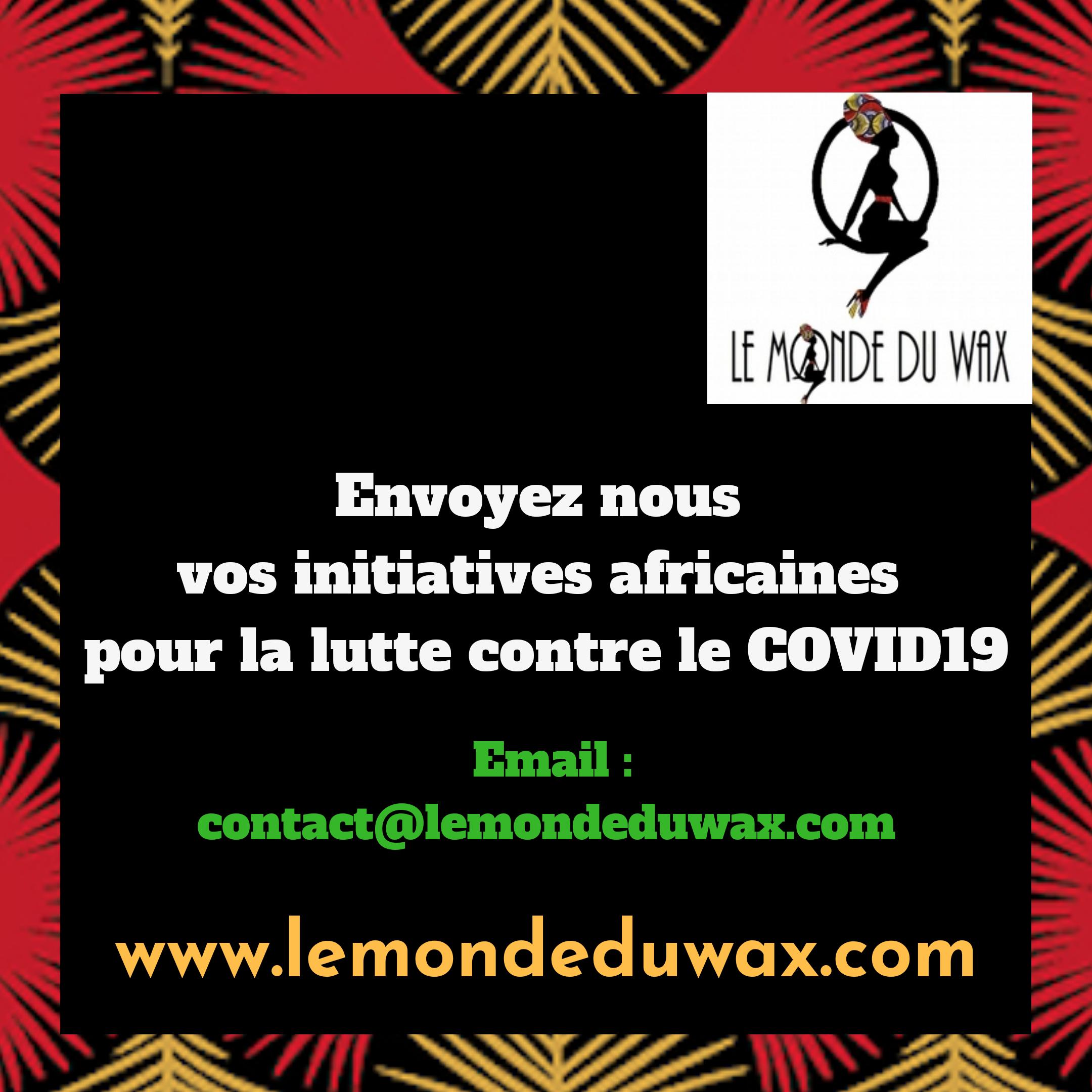 Initiatives africaines contre le coronavirus en Afrique #02