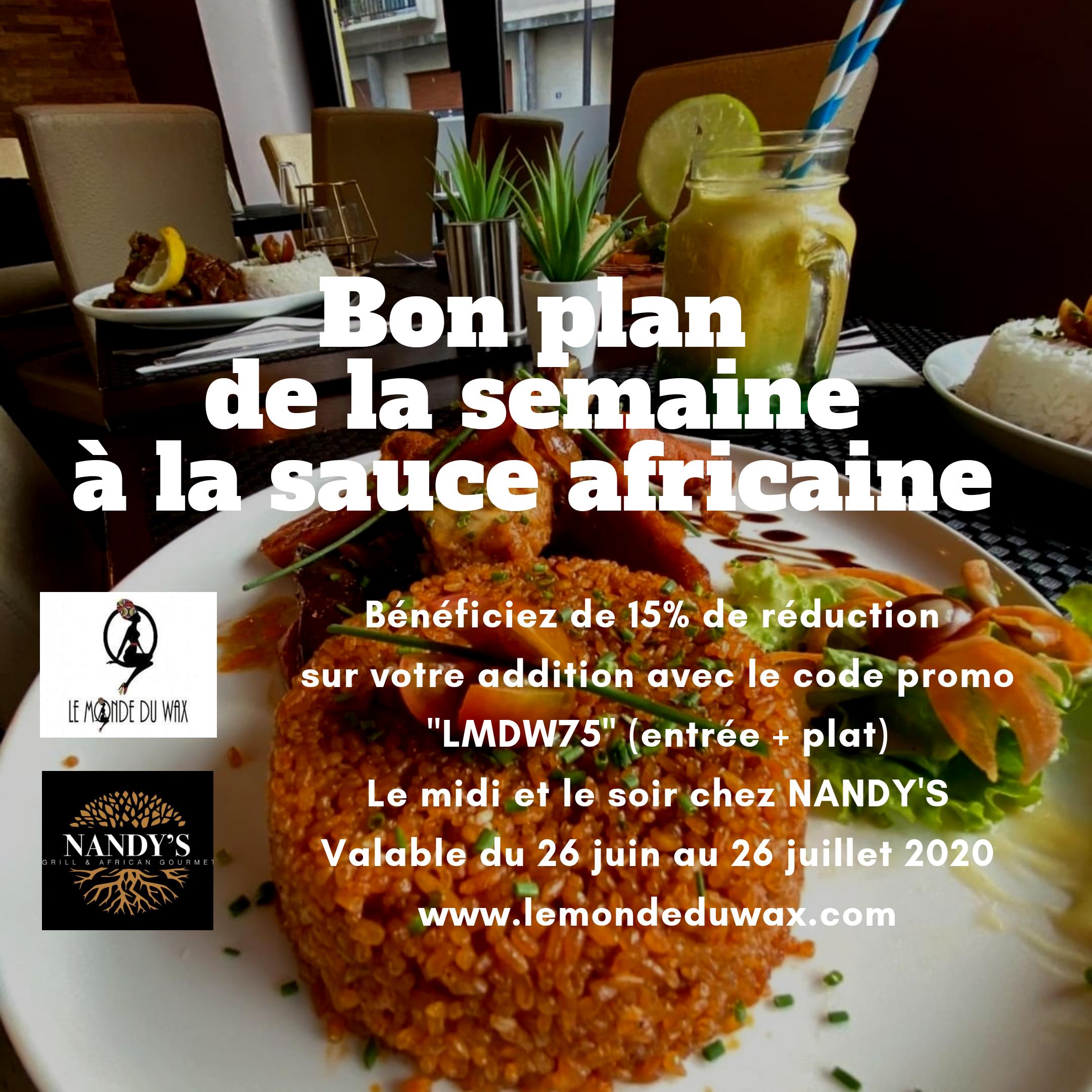 NANDY'S GRIL, le restaurant gastronomique Grill & Gourmet à Paris.