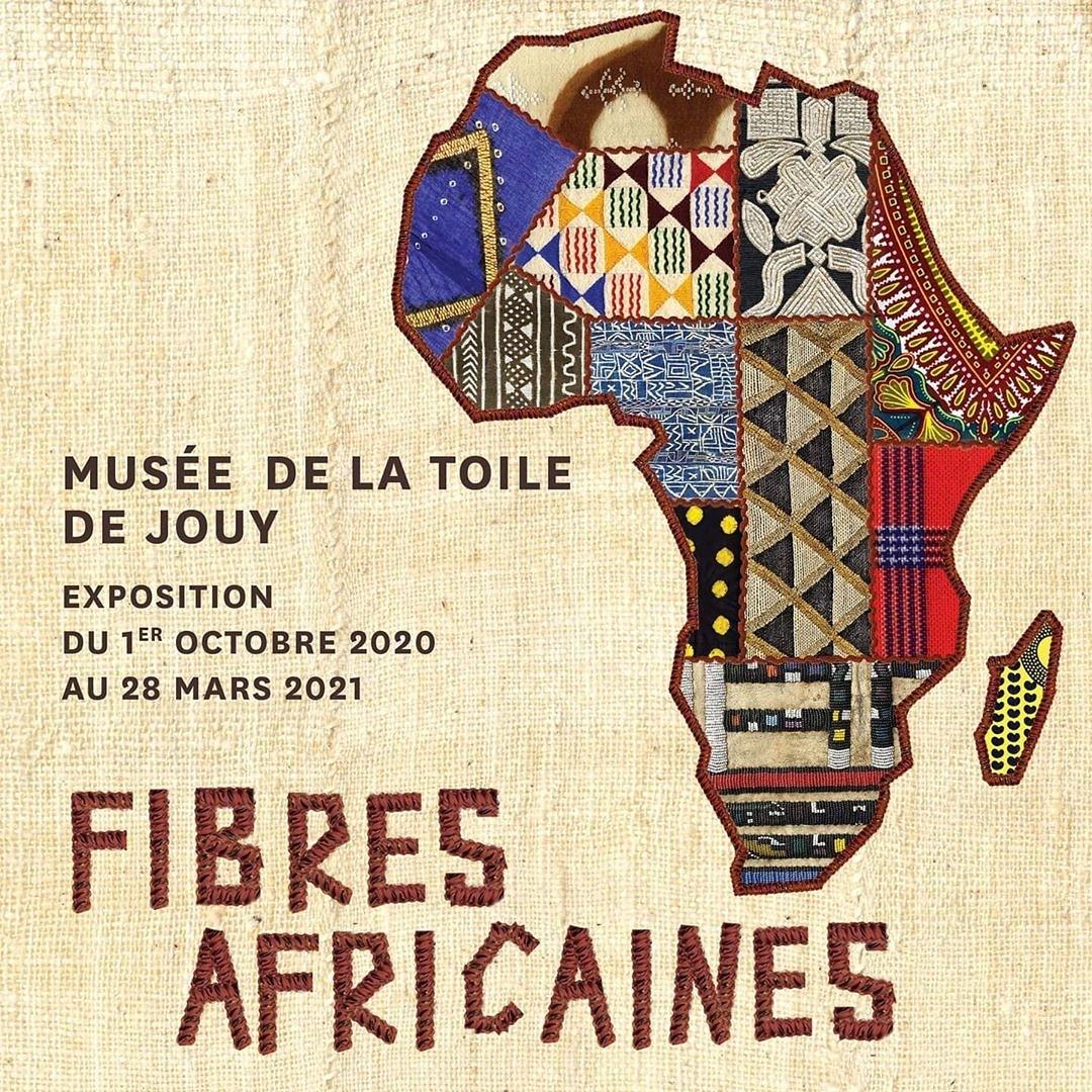 Exposition «Fibres Africaines» du 1er octobre au 28 mars 2021, au Musée de la Toile de Jouy